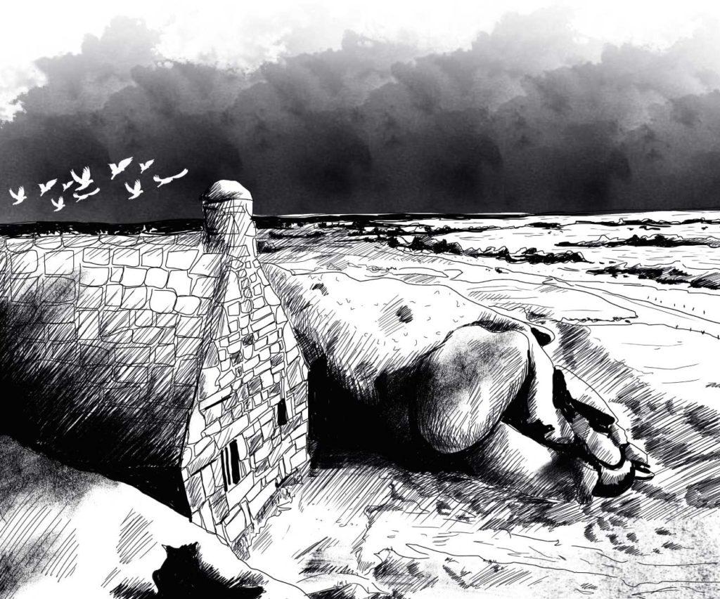 Illustration la maison du bout du monde